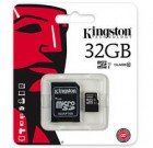 Kingston 32GB Memory Card – Class 10