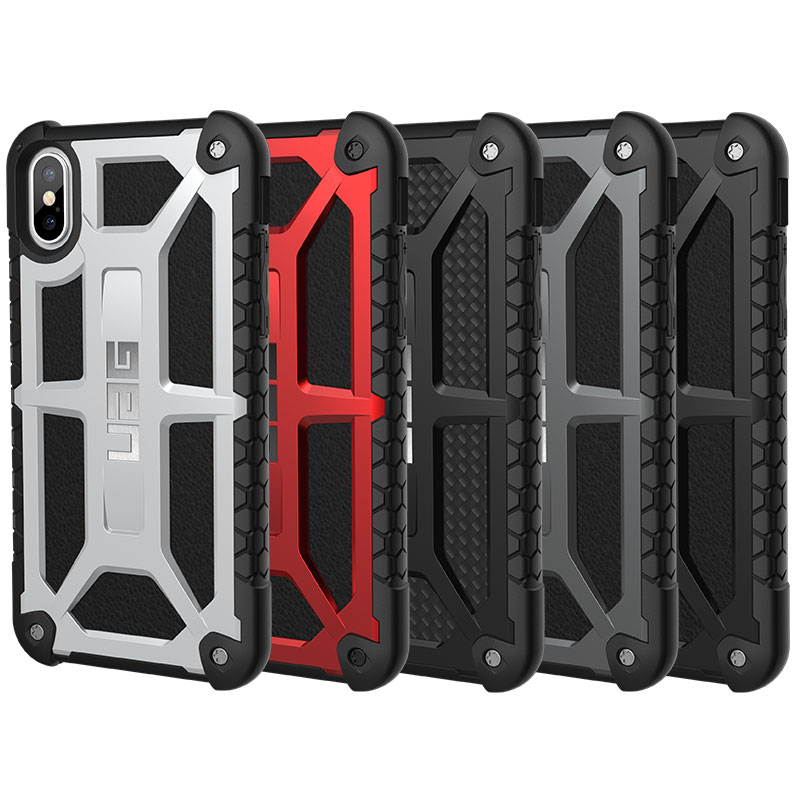 hot sale online f7be5 1a3ec Details about Urban Armor Gear (UAG) iPhone X XS Monarch Military Spec Case  - Rugged Cover