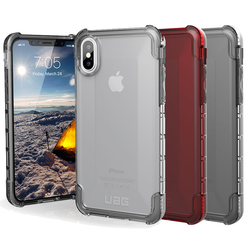 best website 9035d 5b199 Details about Urban Armor Gear (UAG) Apple iPhone X XS Plyo Military Spec  Case - Rugged Cover