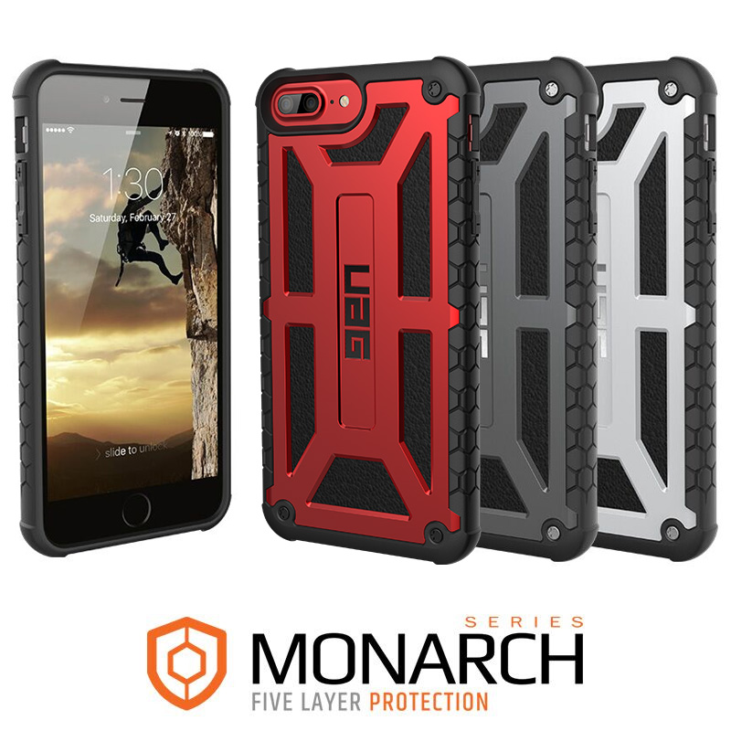 newest e9bbf 0881a Details about Urban Armor Gear (UAG) iPhone 7 PLUS / 8 PLUS Monarch  Military Spec Case -Rugged