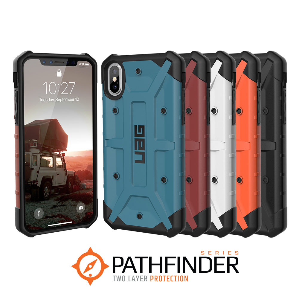 best sneakers 376e7 c9cc8 Details about Urban Armor Gear (UAG) Apple iPhone XS X Pathfinder Military  Spec Case -Rugged